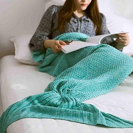 Amazoncom Fumak Throw Blanket Mermaid Throw Blanket Handmade
