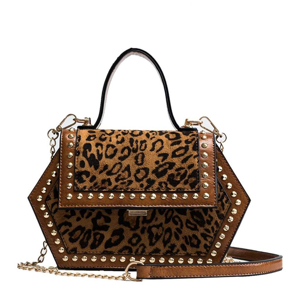 bd7757997539 Amazon.com: XLMLJYX Women's Crossbody Bags Hexagon Shape Shoulder ...