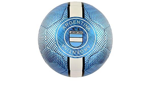Vizari Argentina balón de fútbol 91845 tamaño Azul Cielo, 5 ...