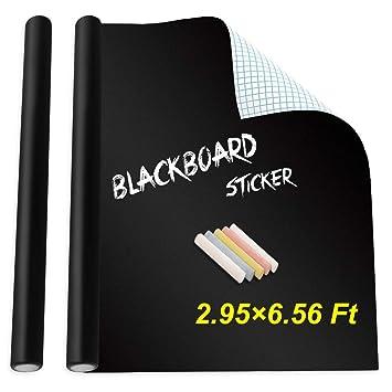 Amazoncom Holotap Extra Large Chalkboard Sticker 354 X 787
