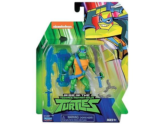 Figura de Teenage Mutant Ninja Turtles TUAB0300 Leo the Cool Guy the Rise of Basic Action , Modelos/colores Surtidos, 1 Unidad