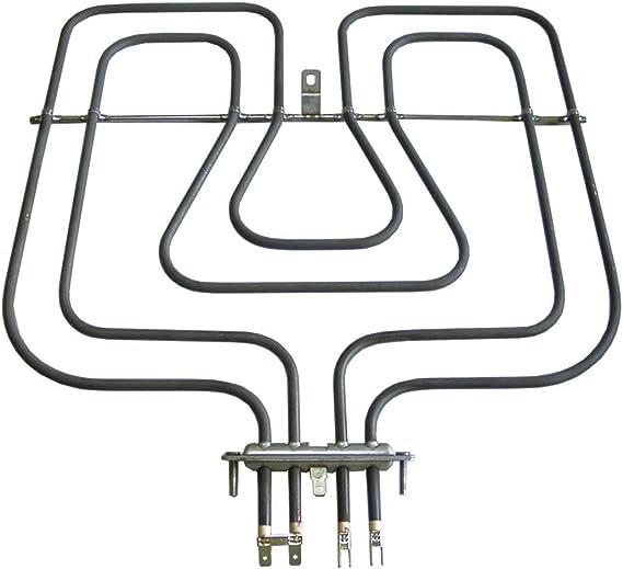 Heizelement Oberhitze 800W Grill 1750W Backofen Alternativ Zanker 3570337018