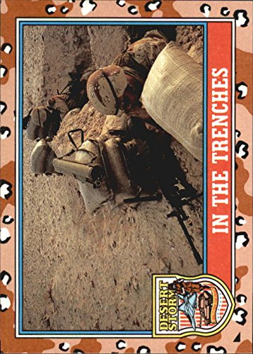 1991 Desert Storm Topps #169 In the Trenches (Storm Trench)