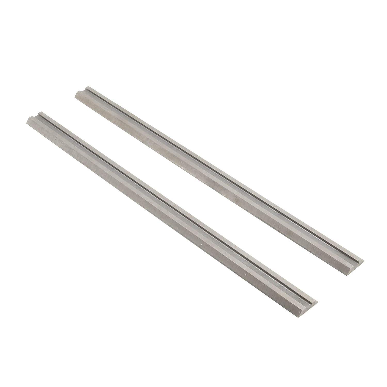 TAROSE 3-1/4 Inch (82mm) Tungsten Carbide (TCT) Portable Hand Planer Blades for DeWalt DW680K D26677K, Bosch PL1632 PL2632K, Makita KP0810 KP0800K, WEN 6530, Vonhaus and most Hand Planer, Pack of 2