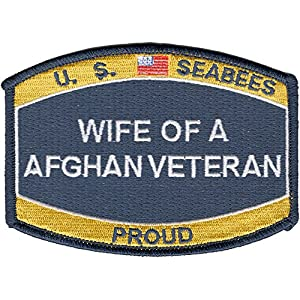 Seabee Wife Of A Afghanistan Veteran Patch