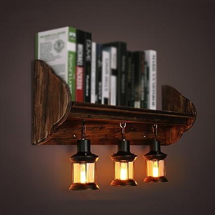Amazon.com: MOMO Lámpara de Pared Retro Lámpara de Pared ...