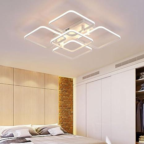Moderno Rectangular Diseño Lámpara de Techo LED Focos de ...