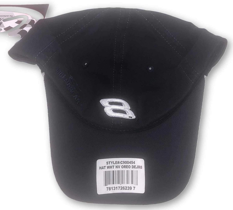 Dale Earnhardt Jr Oreo Vintage Pit Series #8 Adjustable Hat White