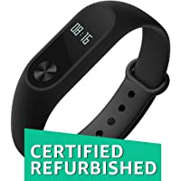 (Certified REFURBISHED) Mi Band HRX Edition (Black)