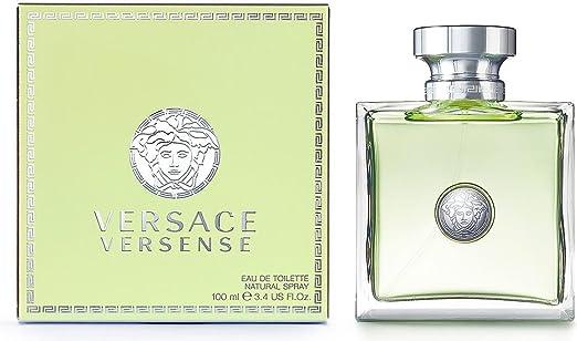 91b3b68a6f6ea Amazon.com   Versace Versense By Gianni Versace For Women Edt Spray 3.4 Oz    Eau De Toilettes   Beauty