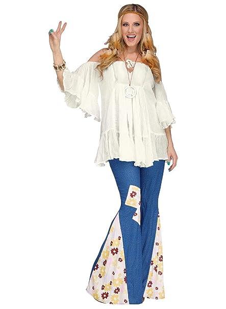 Amazon.com: Disfraz de flor de los años 60 para niño hippie ...