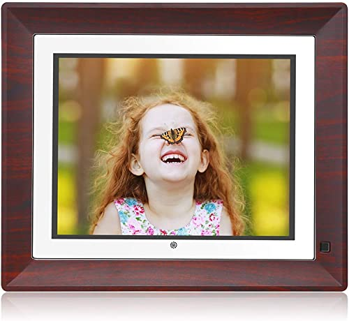 BSIMB Digital Picture Frame Digital Photo Frame 9 Inch IPS Display 1067×800 4 3 Hi-Res Digital Photo HD Video Frame with Motion Sensor USB SD Card Playback Calendar Remote Control M09 None WiFi
