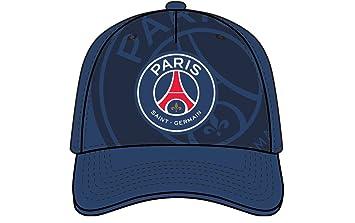 quality design 9854e ea159 PSG Hut Cap offizielle Paris Saint Germain Casquette Mütze blau Big Logo