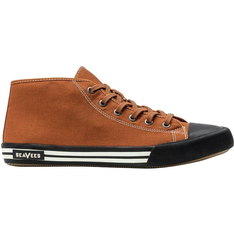 (シービーズ) SeaVees メンズ シューズ靴 White Walls Mid - Cut Shoes [並行輸入品] B07CBNRR31