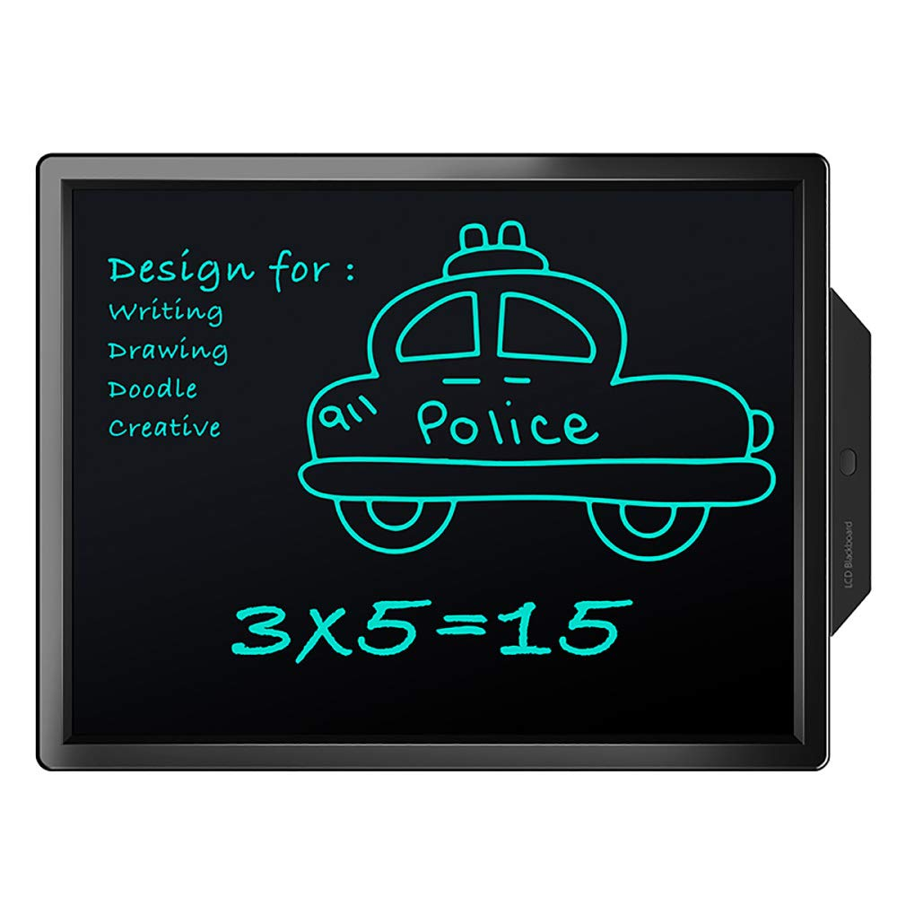 ZYLFN 20''Electronic Writing Drawing Doodle Board, Handschrift Papier Zeichnung Tablet, Küche Memo HinWeiß Kühlschrank Board, Geschenk für Kinder Erwachsene