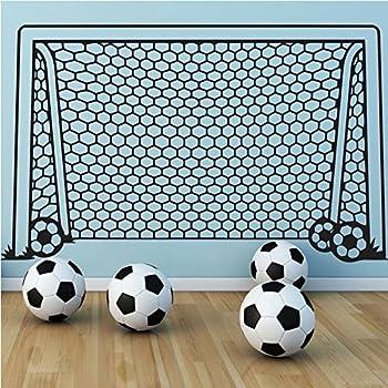Aiwall KW31604 Wall Decal Vinyl Decor Art Wall Sticker Soccer Football Goal  Net Ball Sports Home Part 88