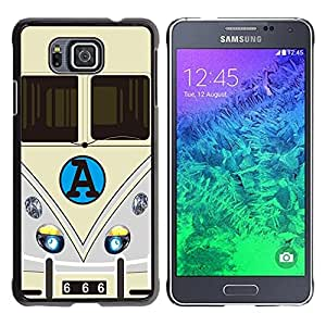 Dragon Case - FOR Samsung ALPHA G850 - Do not have the replay - Caja protectora de pl??stico duro de la cubierta Dise?¡Ào Slim Fit