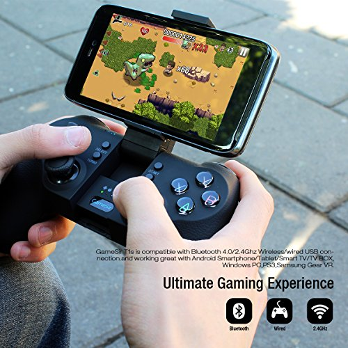 Large Product Image of GameSir T1s Gaming Controller 2.4G Wireless Gamepad for Android Smartphone Tablet/ PC Windows/ Steam/ Samsung VR/ TV Box/ PS3