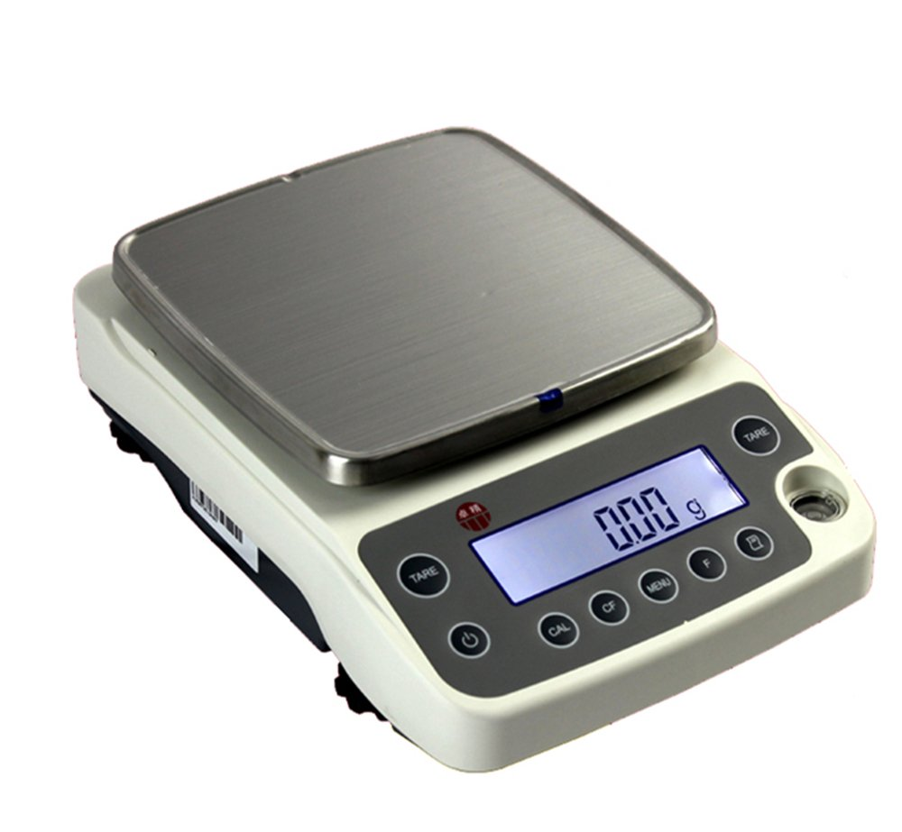 CGOLDENWALL 0.01g Electronic Precision Balance Counting Jewelry//Food Weighing Scale Digital Kitchen Scale RS232 Charging Intelligent Scale 4200g//0.01g