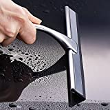Stainless Steel Car Glass Window Wiper Bathroom Shower Window Squeegee Cleaner
