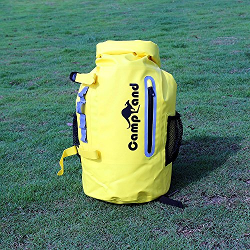76d8c71ee98a CampLand Outdoor Waterproof Backpack Dry bag Large 30L - Keep Gear Dry  Fishing Camping Boating Kayaking