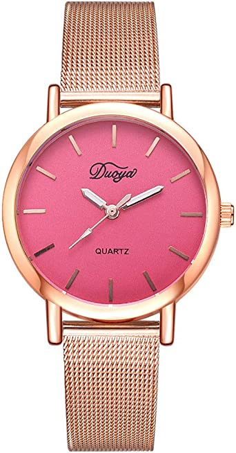 Reloj Mujer Malla con Pin Hebilla Reloj De Mujer Reloj Deportivo ...