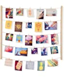 Umbra Hangit Display-DIY Frames Collage Set Includes Picture Wire Twine Cords, Wall Mounts and Clothespin Clips for…