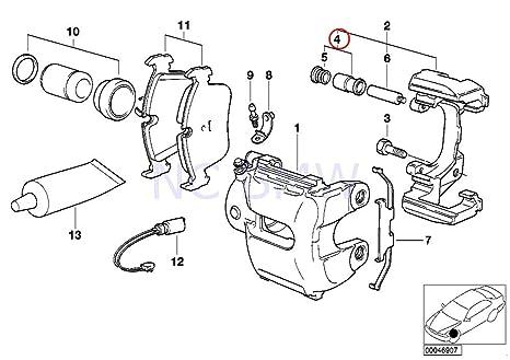 Amazon Com Bmw Genuine Repair Kit Guide Bush Automotive