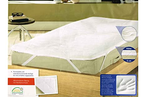 Meradiso® colchones Topper – /colchones 90 – 100 x 200 cm