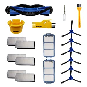 aoteng Accessory Kit for Eufy RoboVac 11S RoboVac 30 RoboVac 30C RoboVac 15C Robot Vacuum Cleaner Replacement Parts (Set 5)