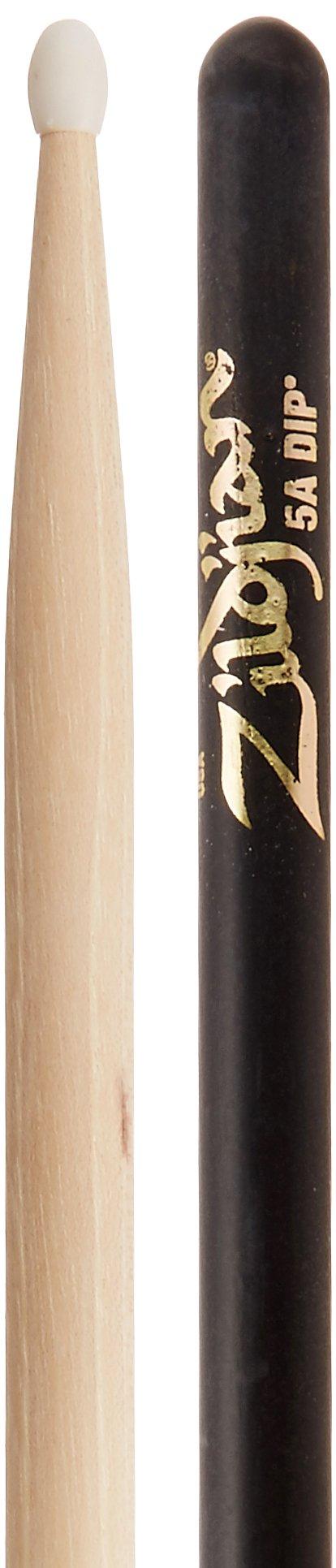Zildjian 5A Nylon Black Dip Drumsticks