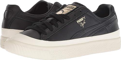 8e2c4dc2af6c Puma Mens Clyde Rubber Toe Lthr Shoes