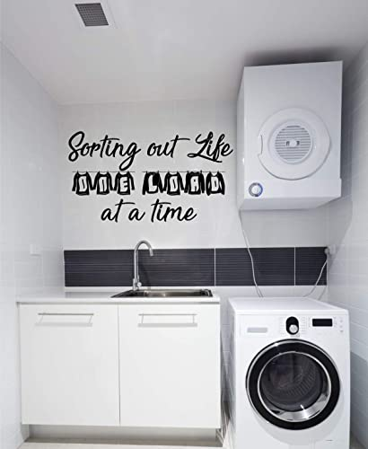 Vinyl Wall Stickers Art Graphics Words Lettering Custom Home Decor Laundry Wall Decal Loads of Fun