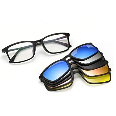 Amazon.com: Gafas de sol polarizadas para hombre y mujer, 5 ...