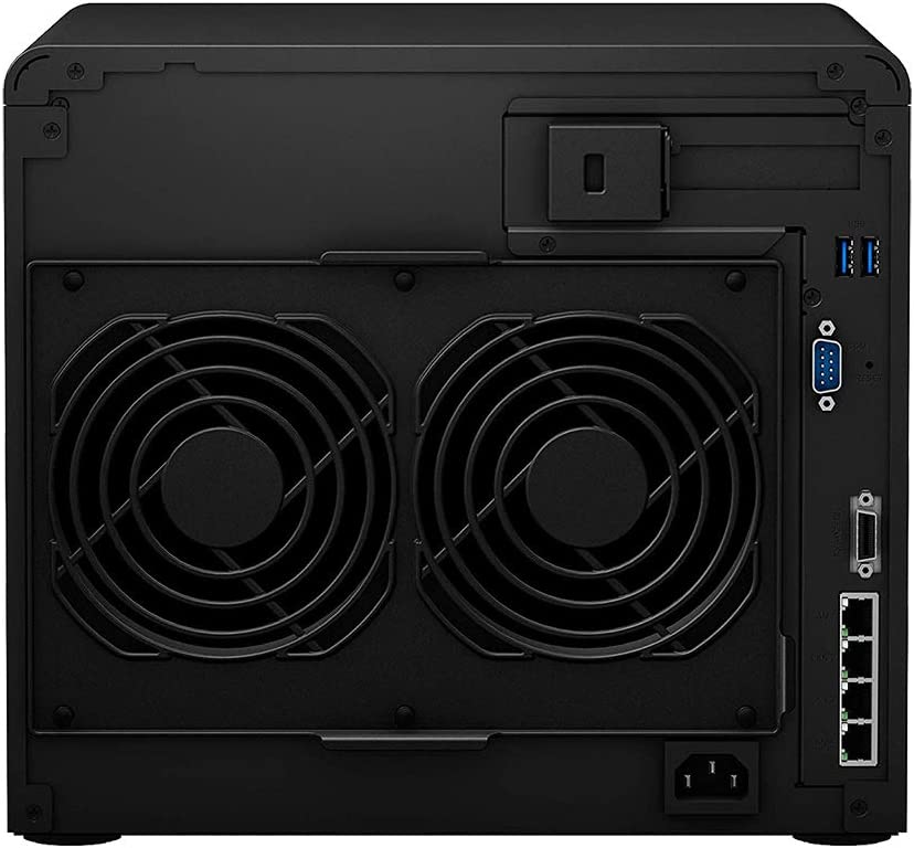 DSM Operating System 24TB HDD Storage Synology DiskStation DS2419+ iSCSI NAS Server with Intel Atom 2.1GHz CPU 8GB Memory