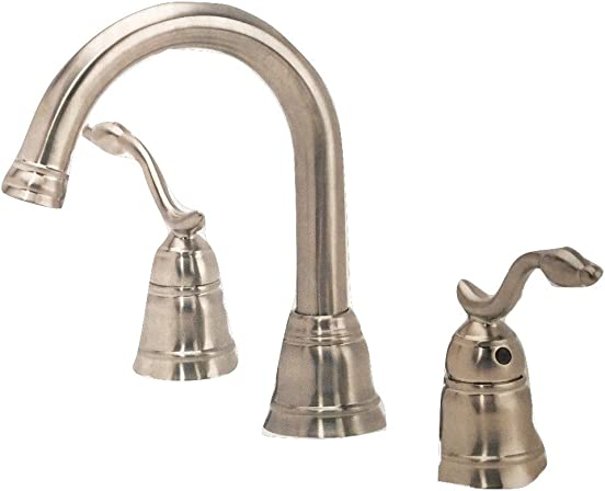Pegasus Baron Two Handle Roman Tub Faucet, Brushed Nickel, FR2D4000BNV, 793 316G