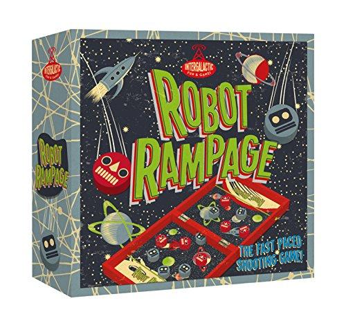 Professor Puzzle Robot Rampage (Rampage Board)