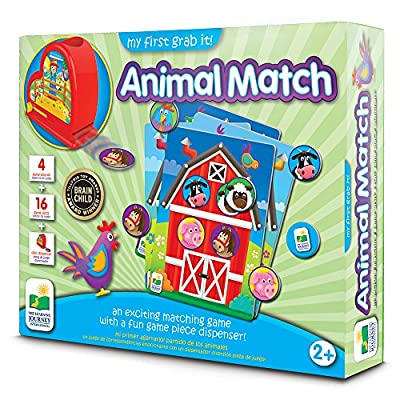 The Learning Journey: My First Grab It! - Animal Match - an Exciting Matching Game: Toys & Games