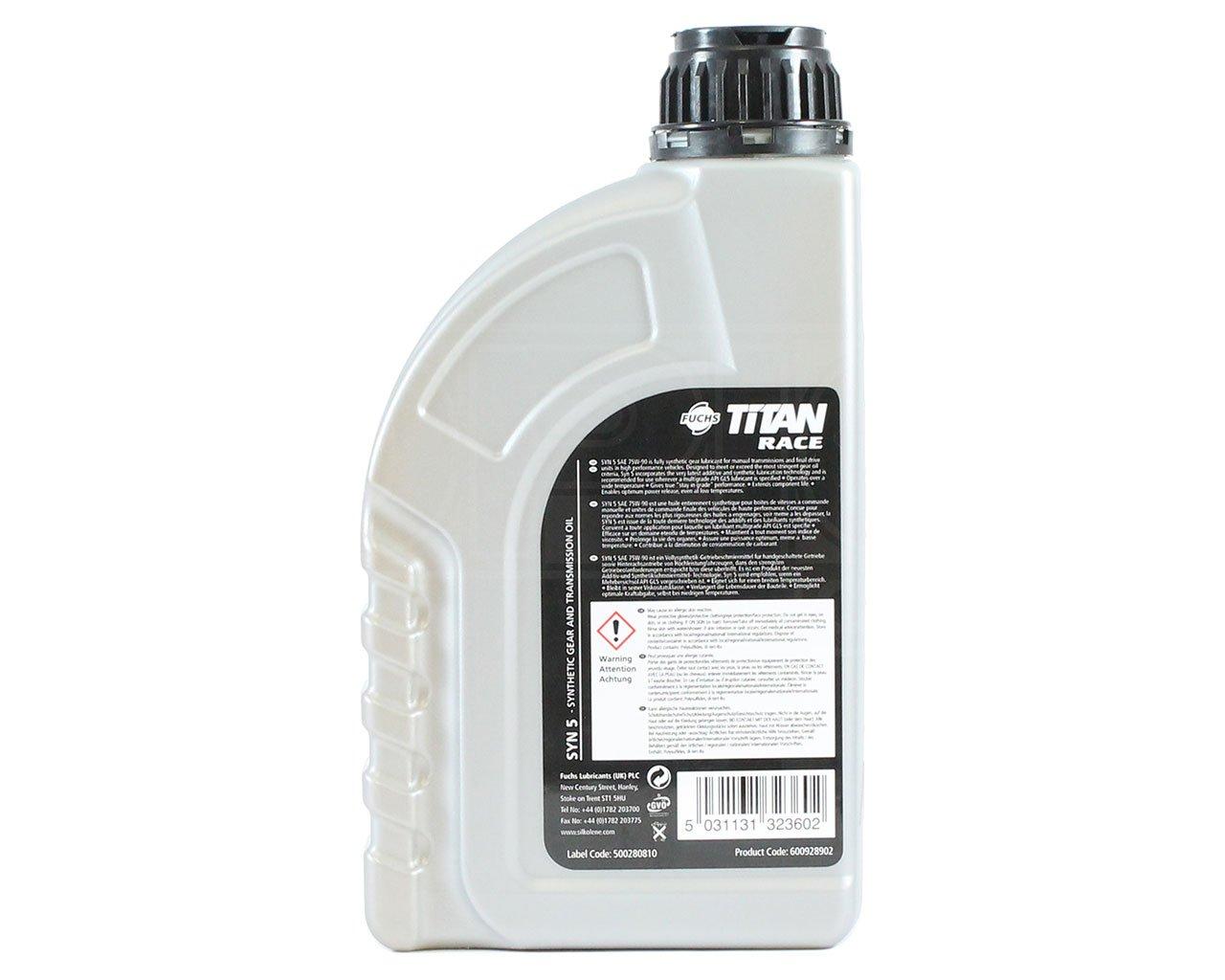 SILKOLENE silktran Syn 5 75 W-90 totalmente sintético Gear ...
