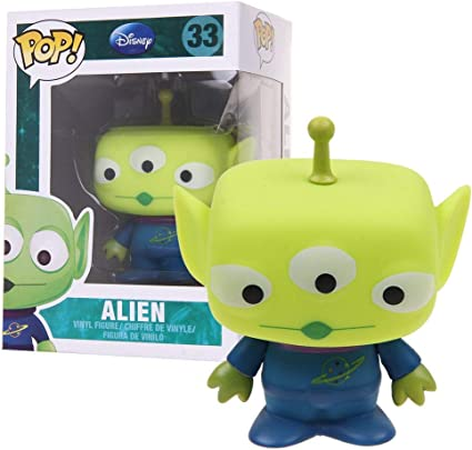 Amazon.com: Funko POP Disney Serie 3: Alien vinilo Figura ...