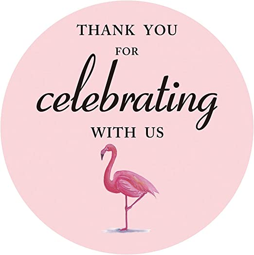 Thank You Stickers Wedding Thank You Stickers Baby Shower Birthday Stickers