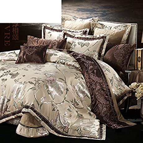 Luxury Villa Continental French Bed Bedding 10 Piece Set A King