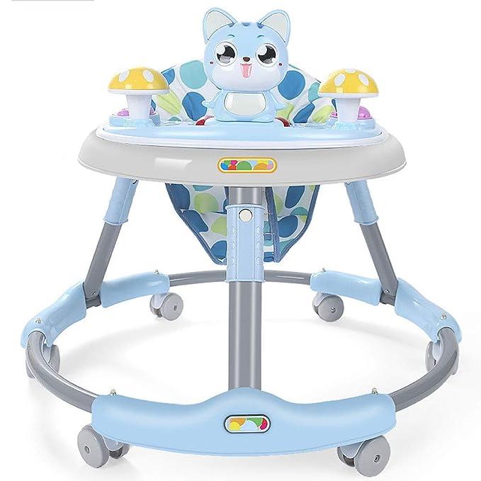 AHIN Andador Bebé,Modelo de Gato Ajustable en Altura Andador ...