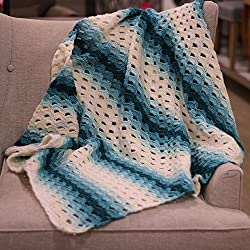 Cro-Kits Mermaid Crochet Afghan Kit