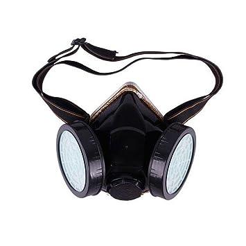 GEZICHTA industriel chimique au gaz anti-poussière Bombe de peinture double  cartouche respiratoire Peinture Masque 1b937c93c46d