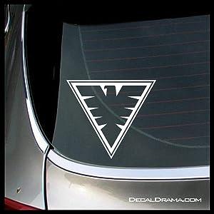 Phoenix Jean Grey emblem, MARVEL's X-Men SMALL Vinyl Car/Laptop Decal