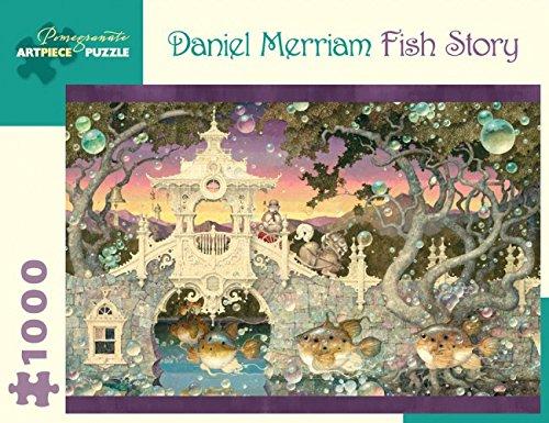 Daniel Merriam Fish Story 1000-Piece Jigsaw (Story Jigsaw)
