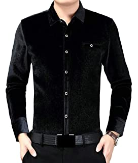 Abetteric Mens Plus-Size Turn-Down Collar Pullover Long Sleeve Sweaters