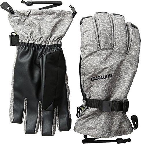 Burton Profile Gloves, Monument Heather, X-Small