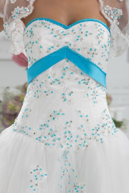 GEORGE BRIDE New Strapless Floor-Length Wedding Dress/ Evening Dress mit Jacket
